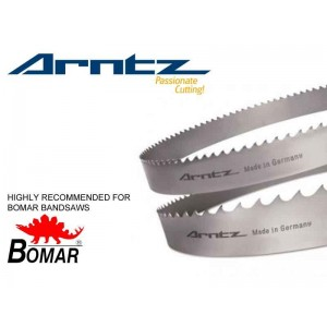 bandsaw blade for bomar model individual dganc length mm x width mm x mm x tpi