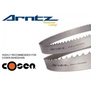 bandsaw blade for cosen model cnc length mm x width mm x mm x tpi
