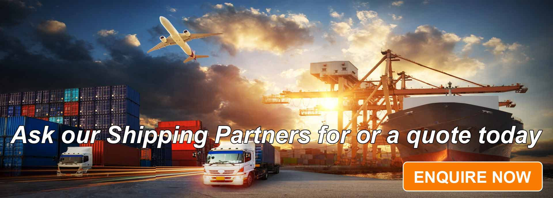 Ask Our Shipping Partners For Or A Quote Today